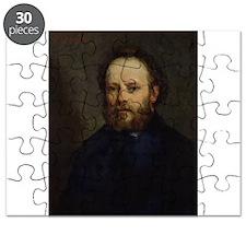 Portrait of Pierre Joseph Proudhon (1809- - Puzzle