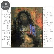 Sacred Heart, 1910 (pastel on paper) - Puzzle