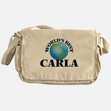 World's Best Carla Messenger Bag