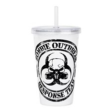 Zombie Outbreak Response Team Acrylic Double-wall