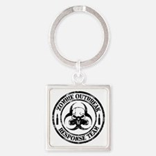 Zombie Outbreak Response Team Keychains