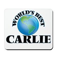 World's Best Carlie Mousepad