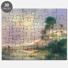 Florida, 1895 (oil on canvas) - Puzzle