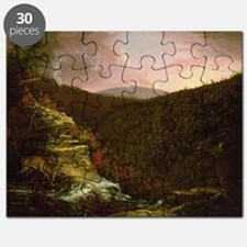 From the Top of Kaaterskill Falls, 1826 ( - Puzzle