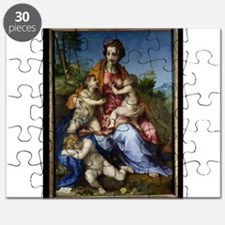 Charity, 1518-19 (oil on canvas) - Puzzle