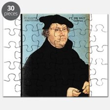 Martin Luther, c.1532 (oil on panel) - Puzzle