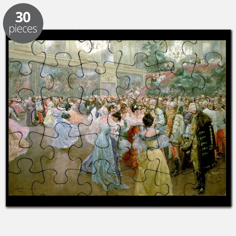 Court Ball at the Hofburg, 1900 (w/c) - Puzzle