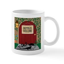 Reptiles Welcome Mug