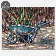 Wheelbarrow, 2005 (oil on canvas) - Puzzle