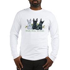 Scottish Terrier Trio Long Sleeve T-Shirt