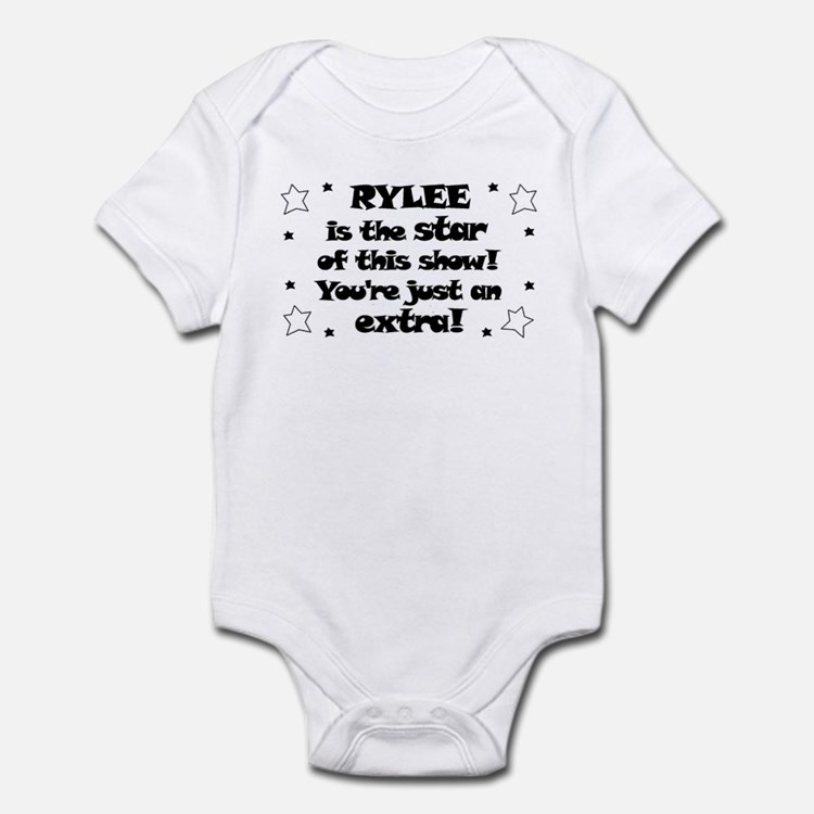 Rylee is the Star Infant Bodysuit