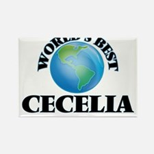 World's Best Cecelia Magnets