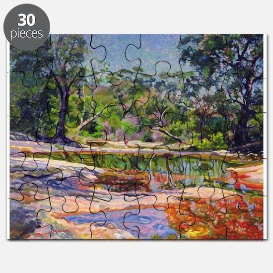Wirreanda Creek, New South Wales, Austral - Puzzle