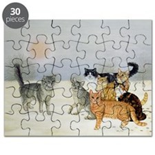 Winter-Cats - Puzzle