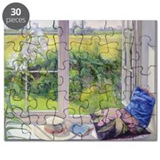 Window Seat and Lily, 1991 - Puzzle