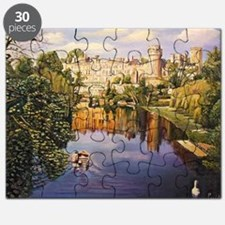 Warwick Castle, 2008 (oil on canvas) - Puzzle