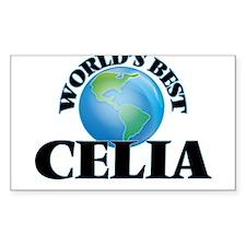 World's Best Celia Bumper Stickers