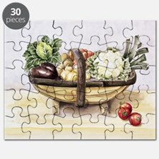 Still life with a trug of vegetables, 199 - Puzzle