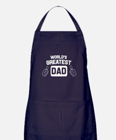 World's greatest dad. Apron (dark)