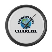 World's Best Charlize Large Wall Clock