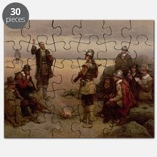 The Landing of the Pilgrim Fathers, 1620 - Puzzle