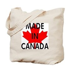 Made in Canada Tote Bag