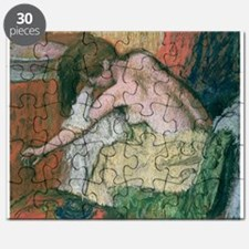 Woman drying herself, 1888-89 (pastel on - Puzzle