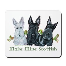 Scottish Terrier Trio Mousepad
