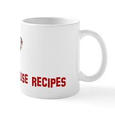 Real men dont use recipes Mug