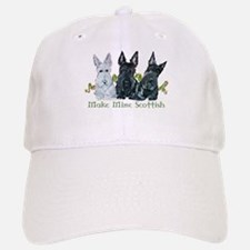 Scottish Terrier Trio Baseball Baseball Cap
