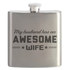 My husband has an awesome wife Flask