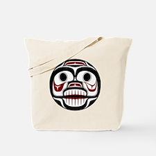 Northwest Pacific coast Haida Weeping skull Tote B