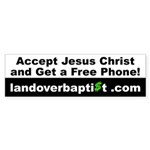 Free Phone Bumper Sticker