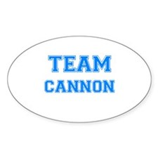 TEAM CANNON Oval Decal