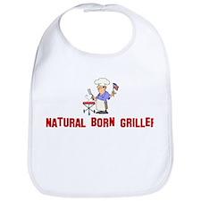 Natural Born Griller Bib
