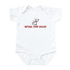 Natural Born Griller Infant Bodysuit