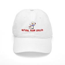 Natural Born Griller Baseball Cap