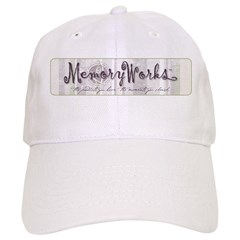 MW Striped Logo Baseball Cap