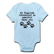 My English Coonhound Is Smarter Than You Body Suit