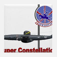 Super Constellation WV Ec121_VW13_NAV Tile Coaster