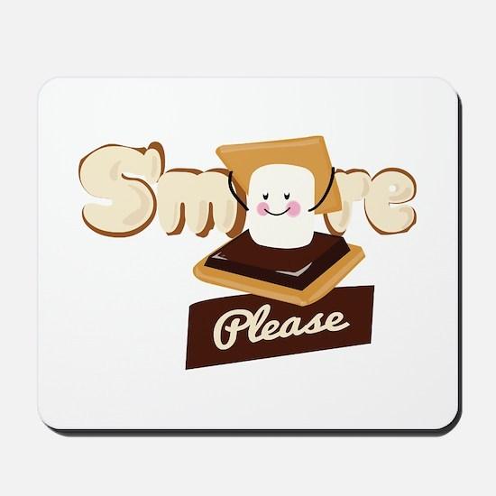 Smore Please Mousepad