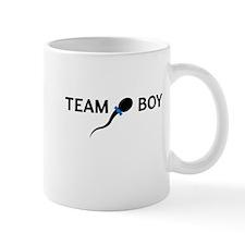 Team boy sperm baby announement Mugs