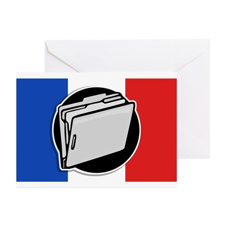 Francophile Greeting Cards (Pk of 10)