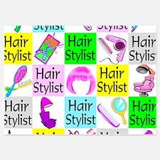 TOP HAIR STYLIST 5x7 Flat Cards