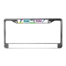 TOP HAIR STYLIST License Plate Frame