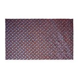 Rusted steel 3x5 Rugs