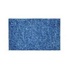 Blue Denim 3'x5' Area Rug