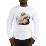 BULLDOG SMILES Long Sleeve T-Shirt