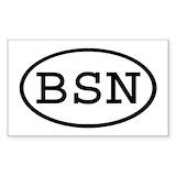 Bsn sticker Single