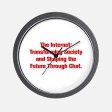 The Internet Transforming Society and Shaping the